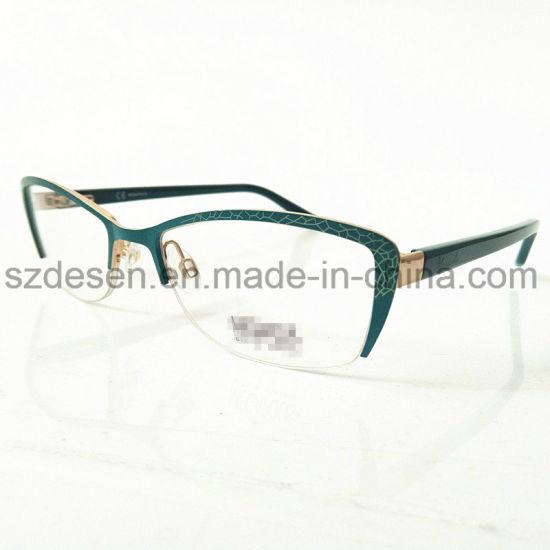 China 2017 Popular Frames Glasses Metal New Model Eyewear Frame ...