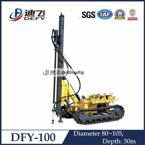 Dfy-100 Used Blast Hole Drill Rig Machine pictures & photos
