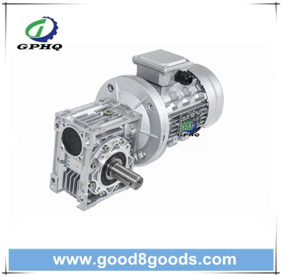 Gphq Nmrv75 Aluminum Worm Speed Gear Box Motor