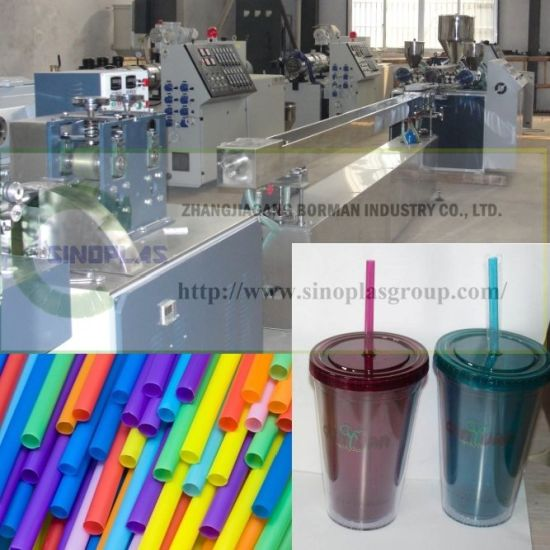 Drinking Straw Making Machine/ Staw Machine/ Automatic Straw Equipment/ Straw Production Line/ Straw Extrusion Line/ Drink Straw Equipment pictures & photos