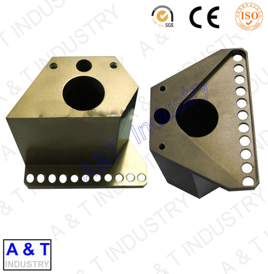 Hot Sale Yellow Zinc Plated Machinery Parts with High Quality pictures & photos