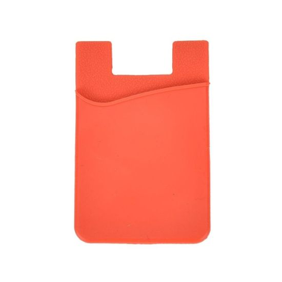 OEM Offered Removable Silicone Suction Cup Phone Back Card Holder