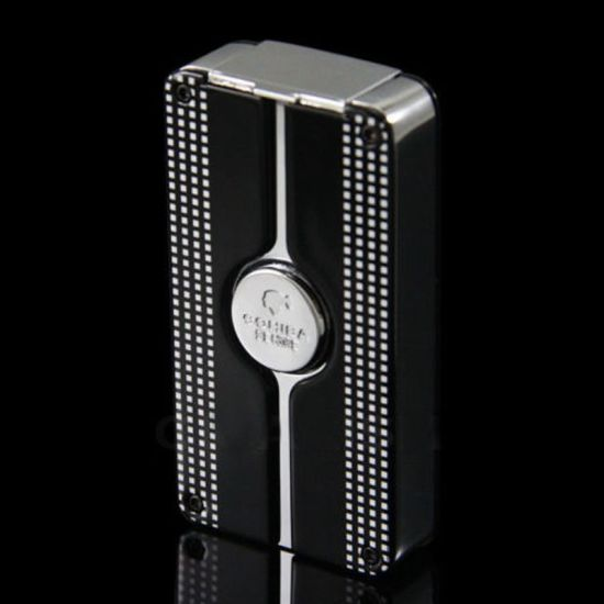 Cohiba Black Behike Classic Torch Flame Punch Cgarette Lighter (ES-EB-135) pictures & photos
