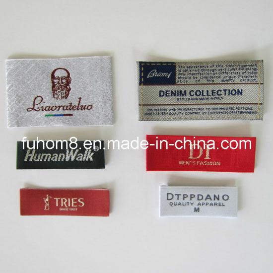 Custom High Quality Woven Label for Garment