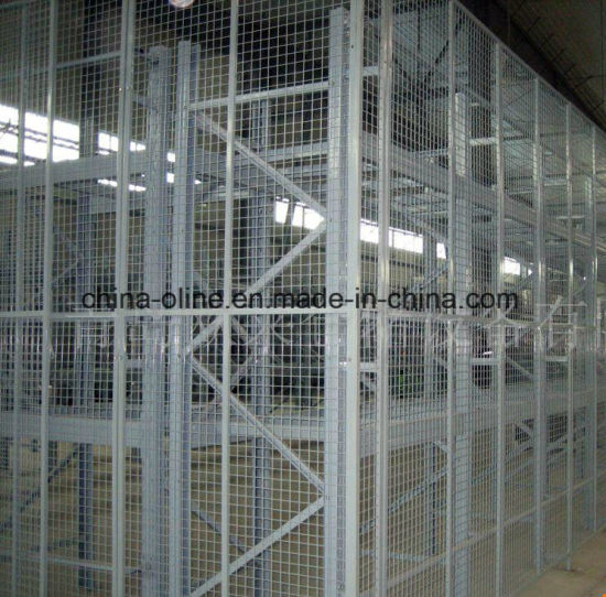 China Wire Mesh Separate Fencing for Back Mesh of Storage Rack ...