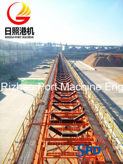 SPD JIS Standard Belt Conveyor Idler Roller pictures & photos