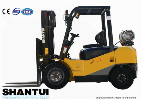 2-2.5ton Gasoline/LPG Forklift Sf20y/25y pictures & photos