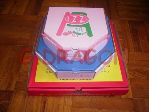 Pizza Box Locking Corners for Stability and Durability (CCB021)