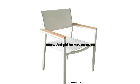 Outdoor Cheaper Alumium Textilene Chair