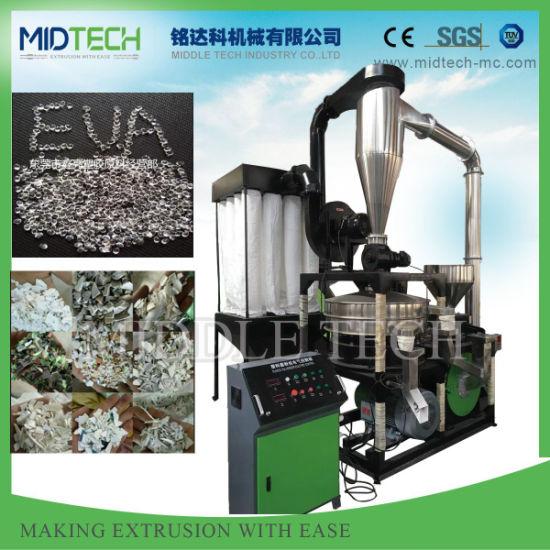 Mf600 Hard Plastic PVC Scrap Pulverizer/Plastic PVC Powder Making Machine/PVC Plastic Grinding Machine.
