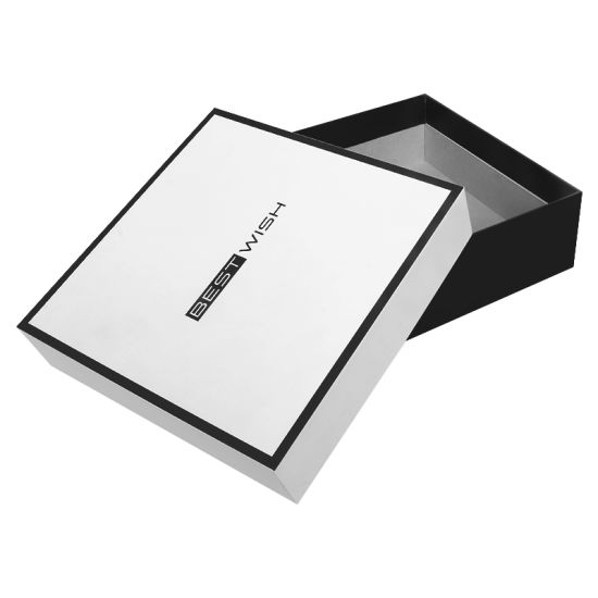 Custom Black Frame Printing Thank You Gift Cosmetic Jewelry Packaging Gift Boxes