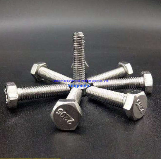 2205 Duplex Steel Stub Bolt with Nuts