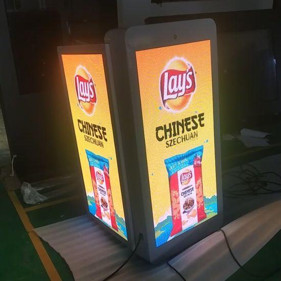 LED P4 480X960 Dual Side Digital Signage