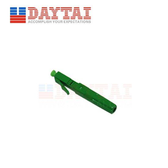 FTTH Fiber Optical Single Mode LC APC Fast Connector