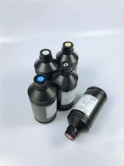 UV Curable Ink for Epson 1390 Tx800 L800 Printing on PVC and Glass Sheet