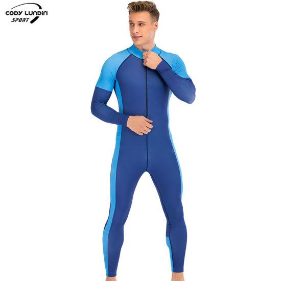 Cody Lundin Free Sample Neoprene Fabric Full Body Swimming Scuba Diving Suit for Man