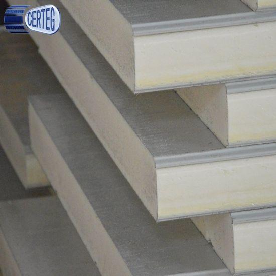 fireproof roof wall panel 30mm 50mm polyurethane PU sandwich panel