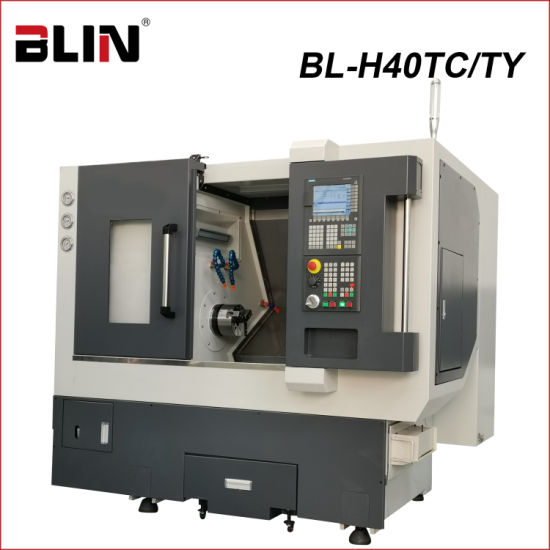 Slant Bed CNC Lathe with C Axes and Y Axes (BL-H40TC/TY)
