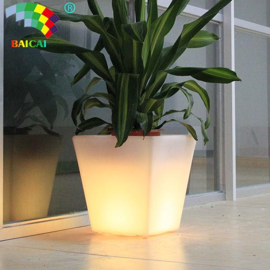 Flower Power Color Changing LED Plant Pot