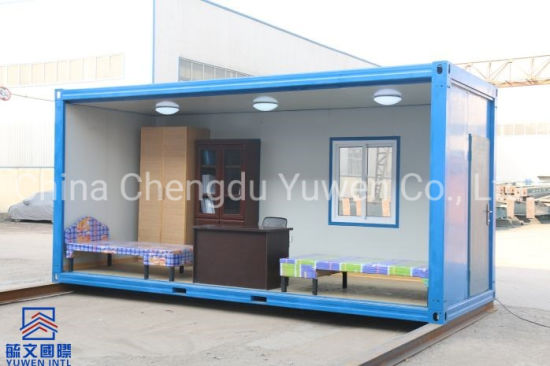 Southeast Asia Low Price Fast Assembly EPS Panel Container Temporary Office
