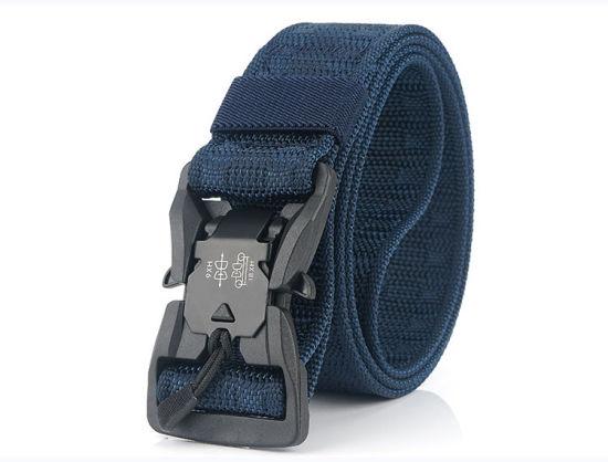 Wholesale Adjustable Outdoor Heavy Duty Men Custom Nylon Military Police Training Tactical Webbing Belt