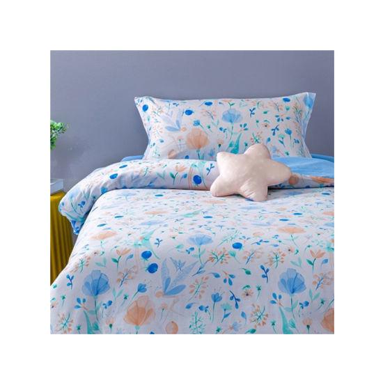 100% Polyester Bedsheet 3D Custom Hometextile Fabric