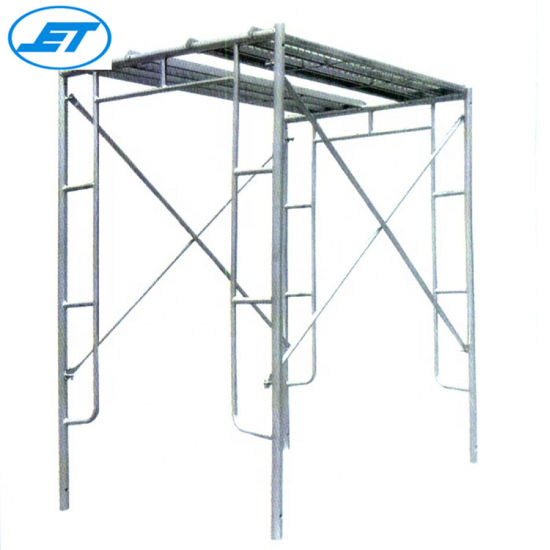 Hot Dipped Galvanized Mobile H Frame Scaffolding with Powder Coated