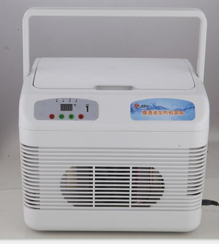 Double Cooling 12 Litres Car Cooler Refrigerator with LED Displayer
