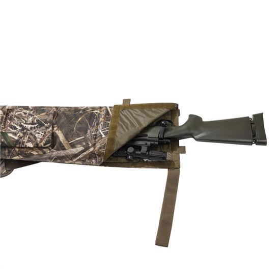 Custom Outdoor Hunting Camouflage Buttstock Cover Rifle Gun Slipe Bag