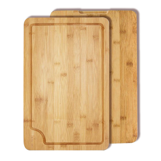 Extra Large Bamboo Cutting Chopping Board with Customized Logo