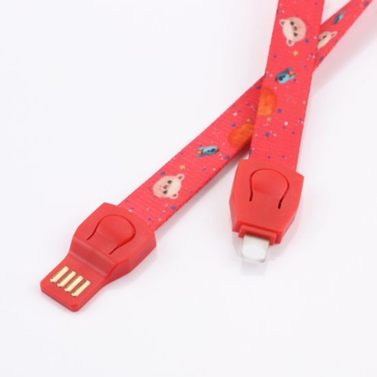 Promotional Gift USB Charging Data Cable for Mobil Phone