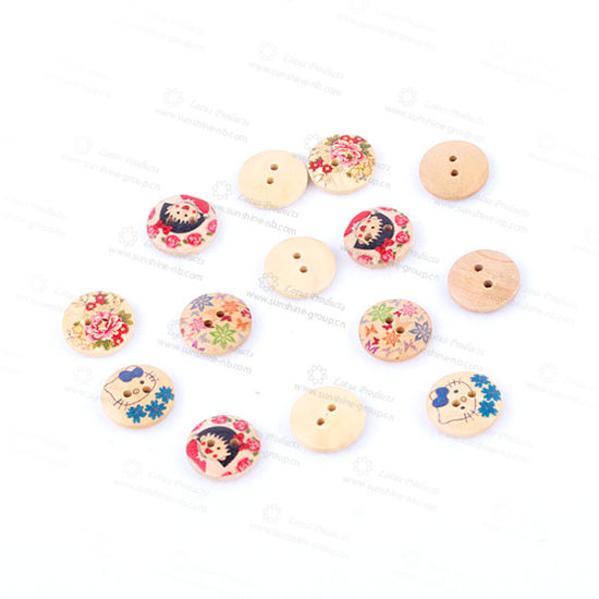 Wooden Buttons Hot-Selling Nature Button