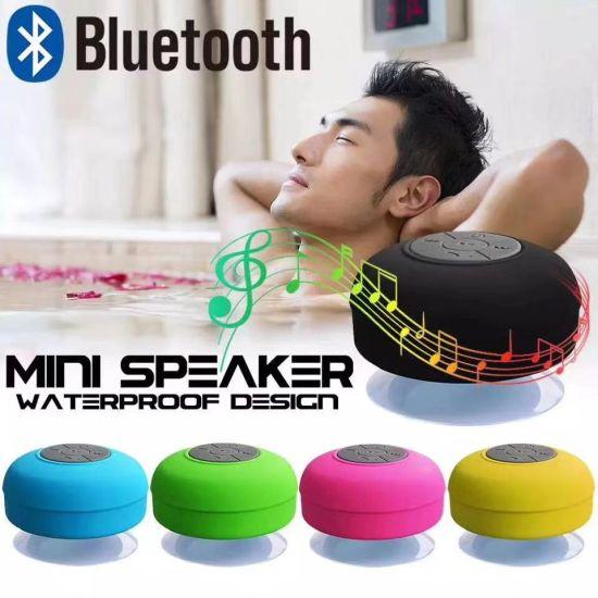 Wholesale Waterproof Wireless Microphone Bluetooth Speaker with Sucker