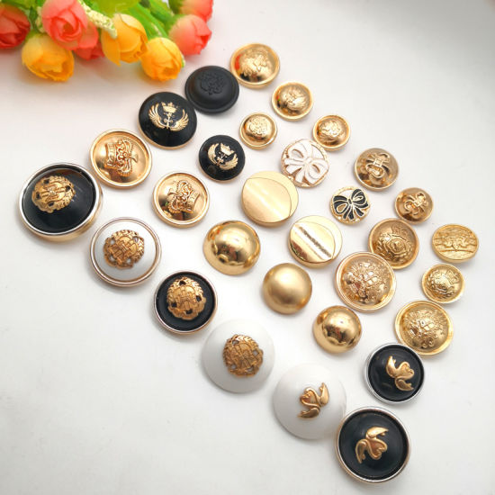 20-25mm Round Alloy Metal Jeans Buttons for Sweater