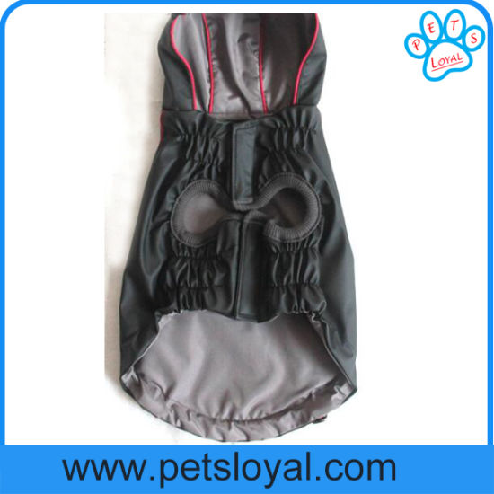 Factory Wholesale Pet Apparel PU Rain Dog Clothes Dog Product pictures & photos