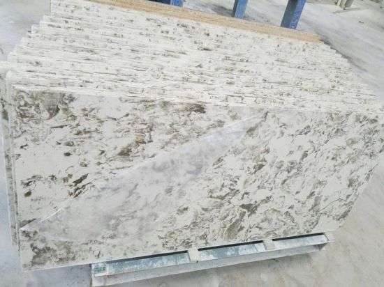 High Hardness Polished Quartz Stone for Kitchentop pictures & photos