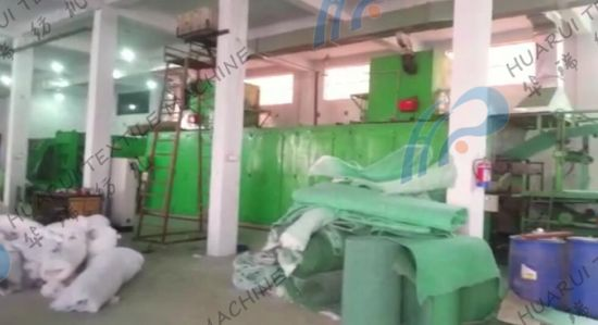 China Whole Production Line of Scouring Cloth for Dish