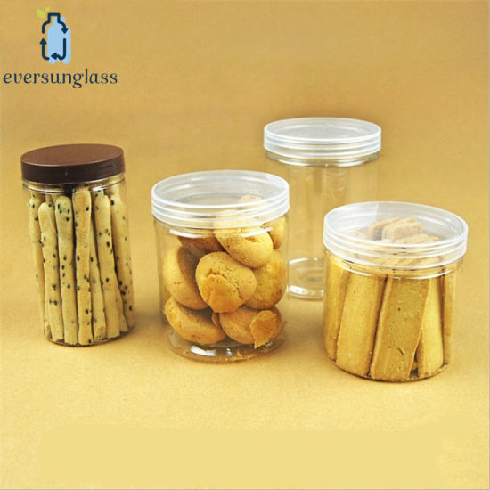 China Airtight Leak Proof Plastic Salt Jars with Easy Open