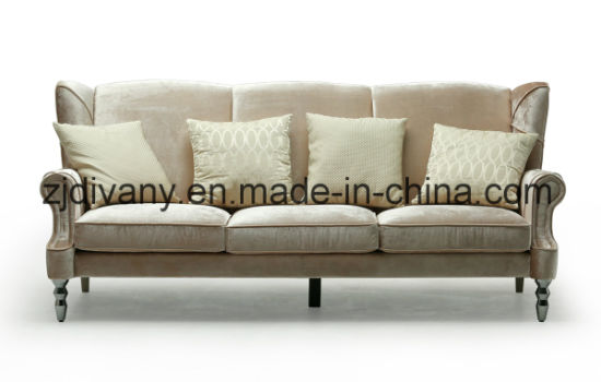 New Classic Sofa Fabric Home Sofa (LS 125)