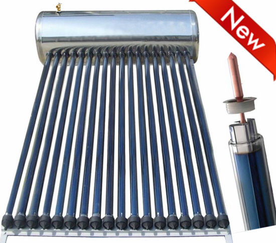 Domestic Heating System Pressurized Heat Pipe Solar Colletor Solar Water Heater