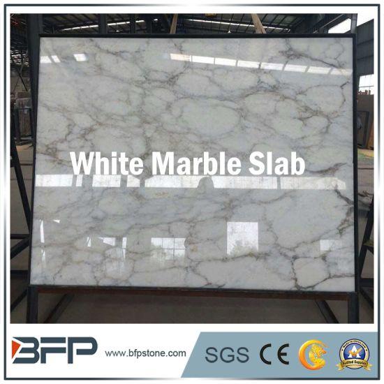 China Hot Sale White Marble Slab For Bathroom Wallfloor Tile
