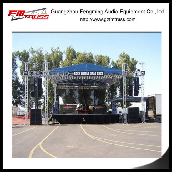 20 Meter Span Truss System with Tent Roof Cover pictures & photos
