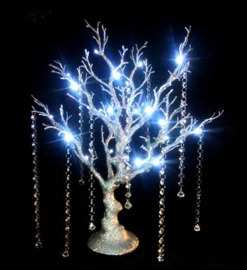 China Manufacture Decorative LED Bead and Chain Artificial Tree pictures & photos
