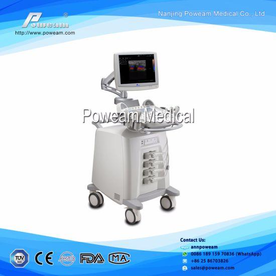 D60 3/4D Diagnosis Medical Equipment Color Doppler Ultrasound Scanner