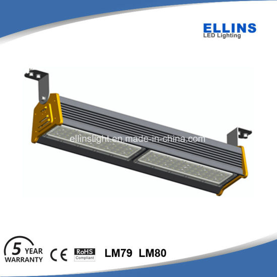 High Power IP65 Industrial LED Linear High Bay Light 100W Warehouse pictures & photos