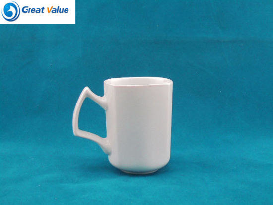 Factory Direct Bulk Customized Printed White Porcelain Mug pictures & photos