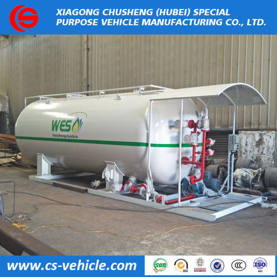 Factory Direct 20mt 30mt Sale Propane Skid Station LPG Gas Filling Station pictures & photos