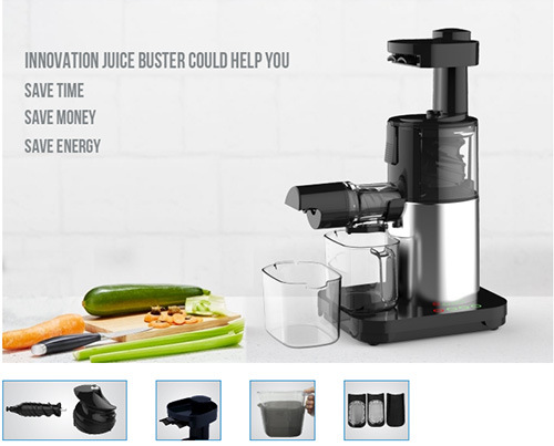 Home Kitchen Automatic Portable Slow Juicer Extractor