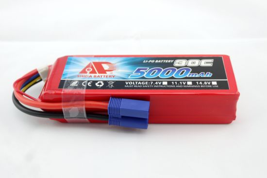 5000mAh 11.1V 30c Lithium Polymer Battery for Jump Starter pictures & photos