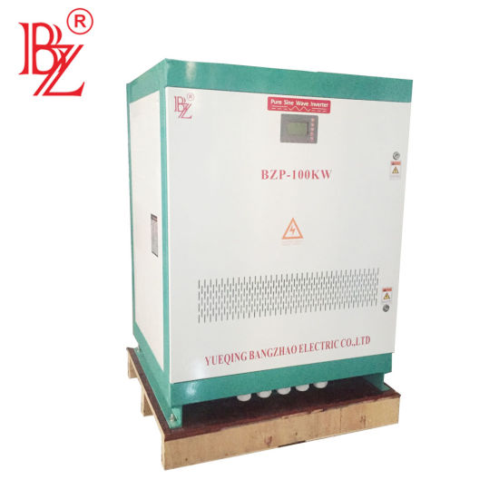 Bangzhao Big Power 100kw 120kw 150kw 200kw 300kw 500kw off Grid Power Inverter with 3 Phase 208V or 380V or 480V Output